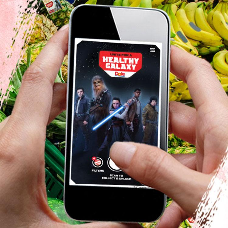 Dole's Unite for a Healthy Galaxy Mobile App
